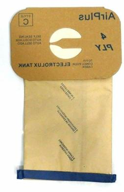 10 Bags for Electrolux Canister Vacuum Style C ~ 4 Ply