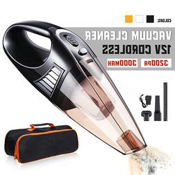 100W Cordless Car Vacuum Cleaner Rechargeable Dry Wet HEPA H
