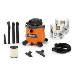16 Gal. 6.5 Peak HP NXT Wet/Dry Vac with Detachable Blower a
