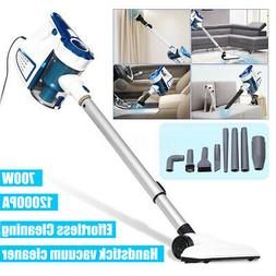 12,000Pa Handheld Stick Vacuum Cleaner Upright Bagless with