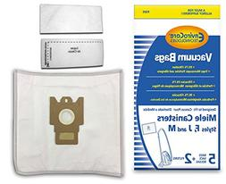 EnviroCare Replacement Bags for Miele F J M Microfiltration