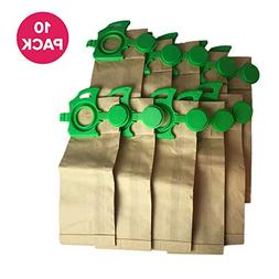 Think Crucial 10 Replacements for Sebo Felix Paper Bags, Com
