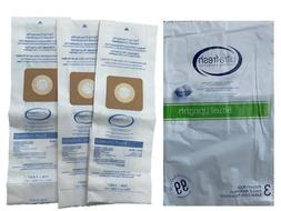 Bissell Vacuum Cleaner Bags Style 1 & 7  30861 with Belts