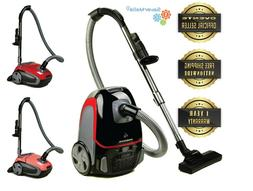 Ovente Canister Vacuum with Tri-Level Filtration Automatic C