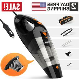 Car Vacuum Cleaner 12V For Auto Mini Hand Held Wet Dry Small