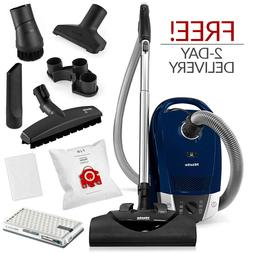 Miele Compact C2 Electro+ Canister Vacuum Cleaner w/ FREE 2-
