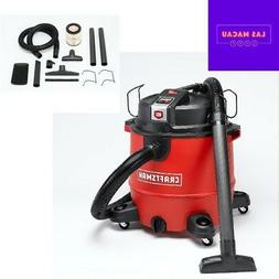 Craftsman 20 Gallon Wet Dry Vac Set with Remote Control Acce