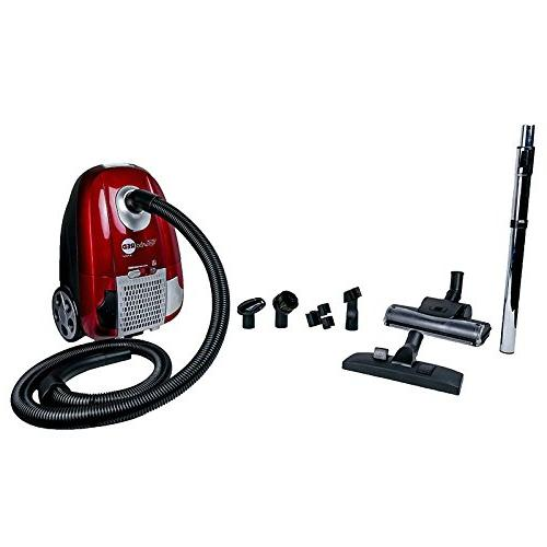 Atrix - AHC-1 Red Canister Portable Vac Cleaner 6 & Speed