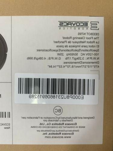 ECOVACS DEEBOT N79S Robot Vacuum with Max Power Alexa Connectiv