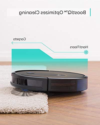eufy Wi-Fi, Upgraded, Super-Thin, 1500Pa Strong 13 Boundary Strips Included, Quiet, Self-Charging Robotic Cleans Hard Medium-Pile Carpets