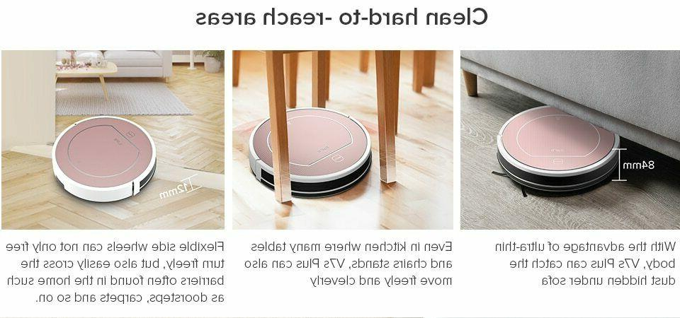ILIFE V7s Robot Vacuum Cleaner Simultaneously