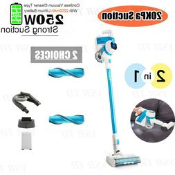 Portable 2IN1 Wireless Cordless Vacuum Cleaner Auto Handheld