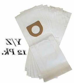 Hoover Type Y/Z Vacuum Bags 12pk Microfiltration 2 Ply Syste
